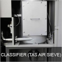 CLASSIFIER (TAS AIR SIEVE)
